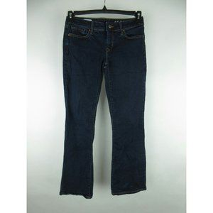 Gap 1969 Blue Solid Sexy Bootcut Jeans